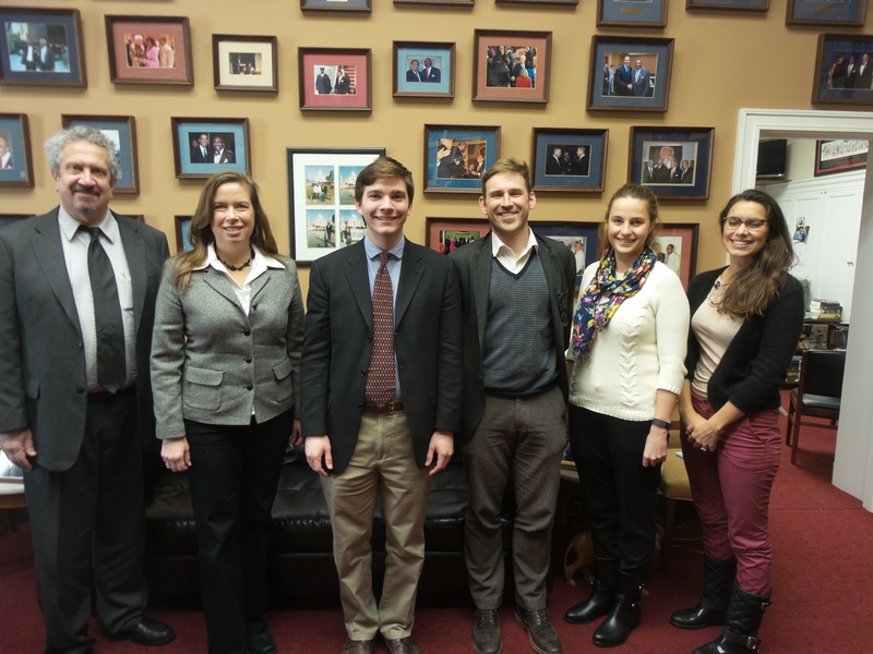 JBANC, in coordination with the Estonian American National Council, met with the staff of Rep. Gregory Meeks (D-NY)