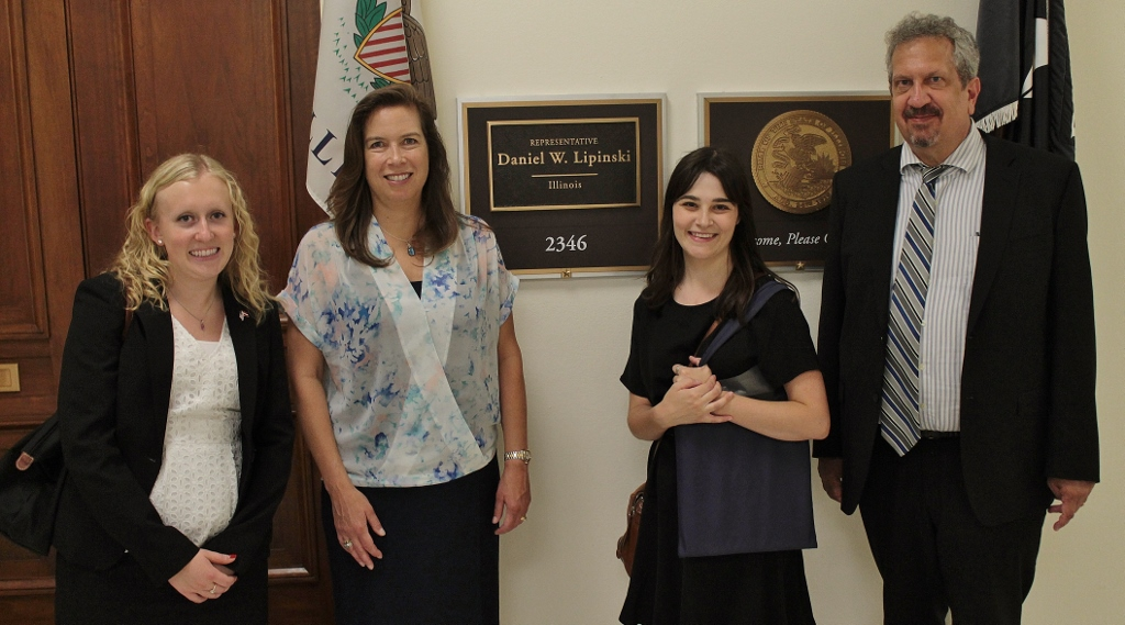 Meeting with Rep. Lipinski's Staff
