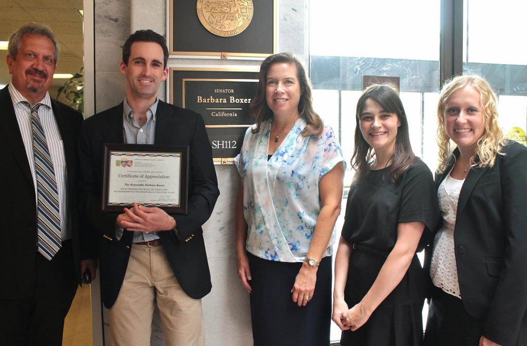 Meeting with Sen. Boxer's Staff