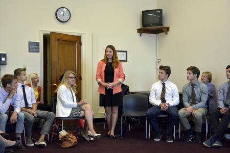 Representatives of the Baltic embassies greeted the Baltic students