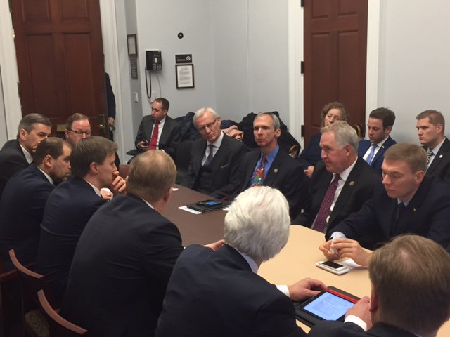 Baltic Caucus and Baltic Parliamentarians Meeting in DC Dec. 06, 2016