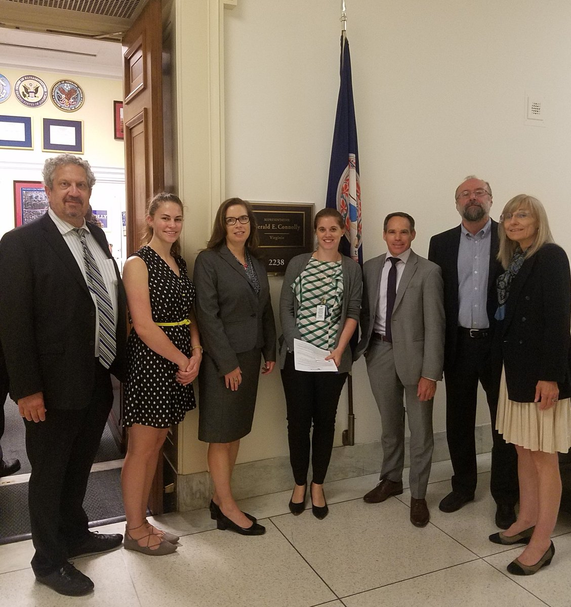 Meeting with Gerry Connolly's office